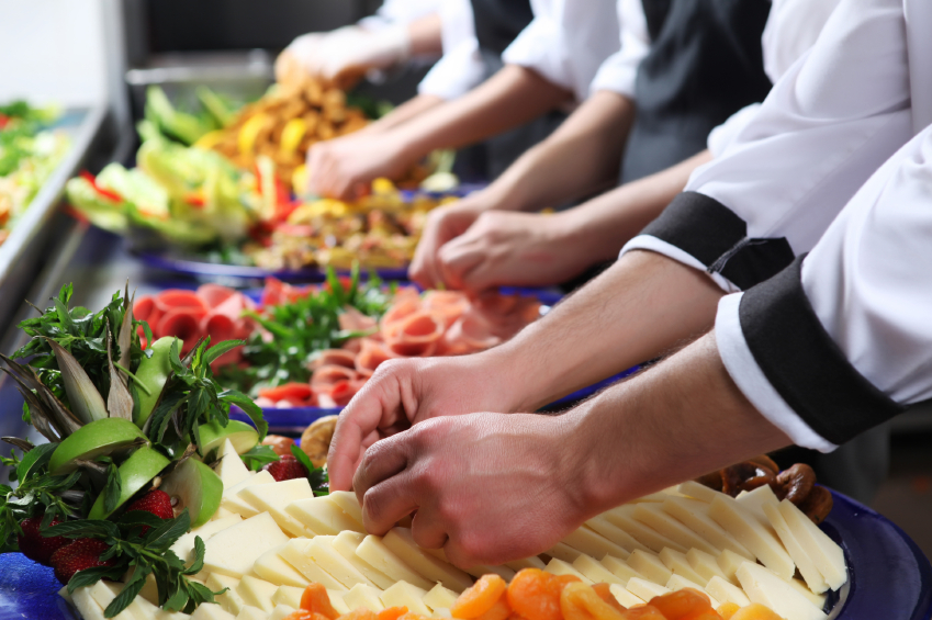 hypothesis of catering services